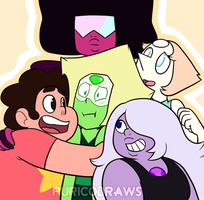 Steven Universe - 'I caught a Peridot!' by puricoXD
