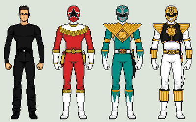 TOMMY OLIVER LEGACY - FIGHTING SPIRITS by vandersonmetal