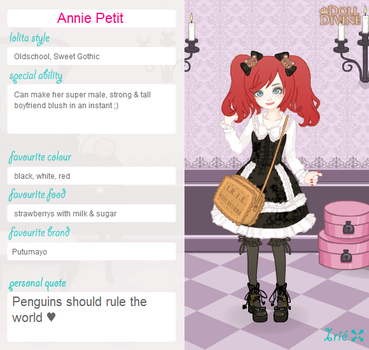 Entry for Sweet Lolita outfit contest by Annie-Petit