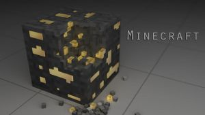 Minecraft Goldblock by Saint3v3n