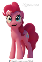 Pinkie Pie by TheRealDJTHED