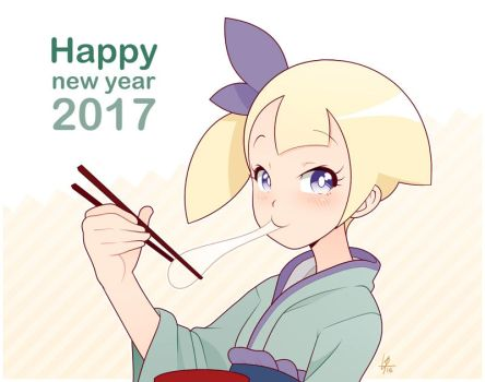 Happy New Year 2017 by Louistrations