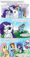 Rarity don't know how to vengeance by GlancoJusticar