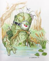 Swamp Thing Minion by DKHindelang