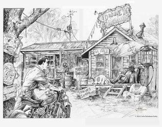 Webb Graphic Novel Double Page Spread by cbgorby