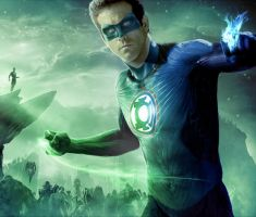 ryan reynolds blue lantern by megamike75