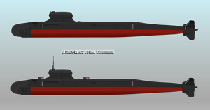 Legacy-class Strike Submarine by Afterskies