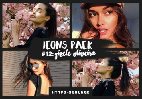 SITEMODELS ICONS PACK - #12: Gizele Oliveira. by https-ggrunge