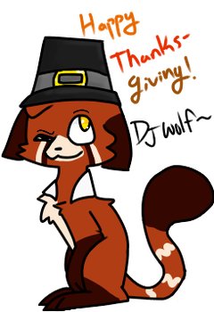 Happy ThanksGiving!|FROM: Remmy by Mousegirlabc