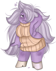 amethyst using that one sweater by MissPolycysticOvary