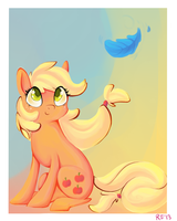 Wanna see your smiling face by Renaifoxi