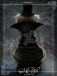 Hatbox Ghost 2015 Back View by MedusaWood