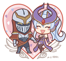 Happy valentines day 2018 by chanseven