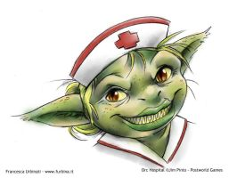 Nurse goblin by nime080