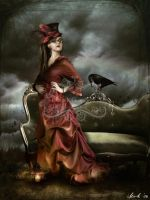 The Raven by Toefje-Kunst