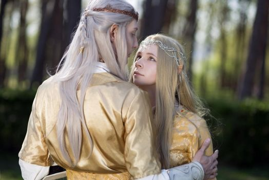 Finrod and Galadriel. by Fealin-Meril