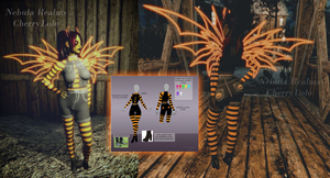 Outfit Design - In game - Nebula Realms by CherrysDesigns