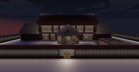 Minecraft mansion 2 update 1 of 2 by seth243