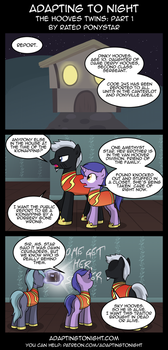 AtN: The Hooves Twins -  Part 1 by Rated-R-PonyStar