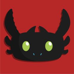 School Work - Toothless icon for app by KachiWho