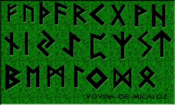 [OC] Nordic Runes Photoshop Brushes - CS6 by Vovina-de-Micaloz