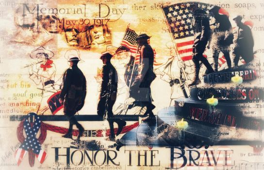 Honor the brave by Laughingbird11