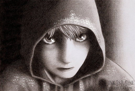 Jack Frost Pencil Drawing by LinkIsMine
