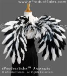 eProductSales Anastazia White and Black Mix Wings by eProductSales
