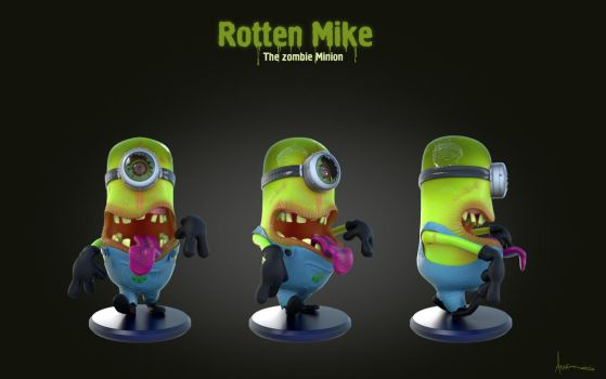 Rotten Mike - Zombie Minion by alhemyo