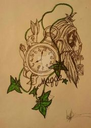 Tattoo Design wip by SuperSonic3