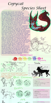 Official Copy Cat Species Ref! by costume-cat