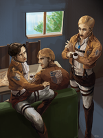 meeting by Lhax
