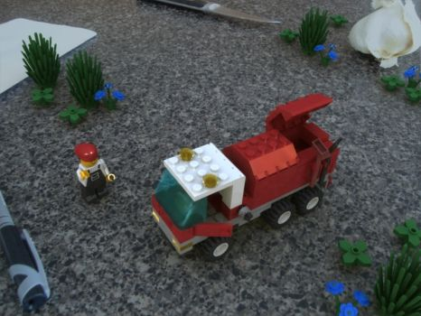 Lego Recycle Truck by MrElusive777