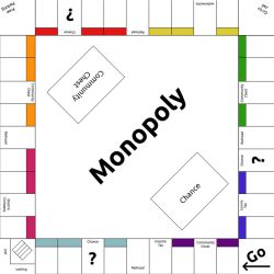 Monopoly Template by lunarcloud