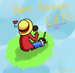 Happy Birthday Luffy!! by JazCooper
