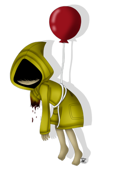 She floats (Little Nightmares joke?) by TheArtisticPone