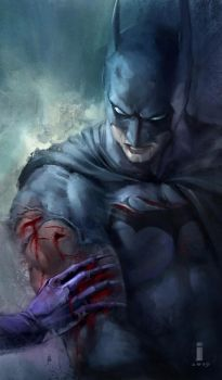 Batman by iVANTAO