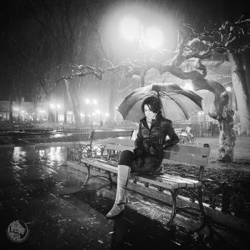 Sitting in the Rain by Pr3t3nd3r