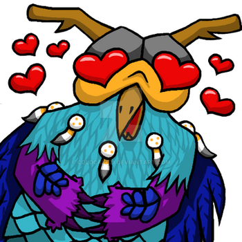 ArgyMoonkinHeart Custom Emote - SOLD by coldcake71
