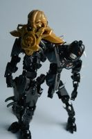 Makuta and [The Darkness] by GhostyMcspooky
