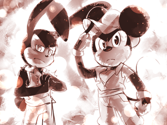Don't Mess With The Rodent Bros by thegreatrouge