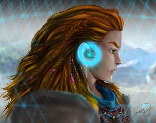 Aloy Horizon Zero Dawn by FF-STUDIO
