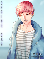 Spring Day | Jimin by Novasweet000