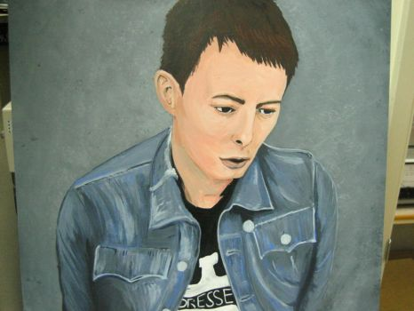Thom Yorke Painting Finished by leucothea