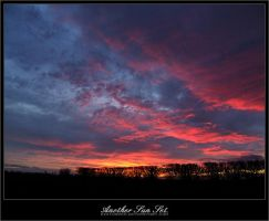 AnotherSunSet. by disturbed