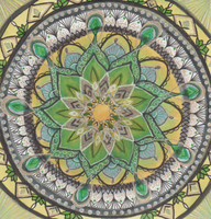 Game of Thrones Tyrell Mandala by allysorge