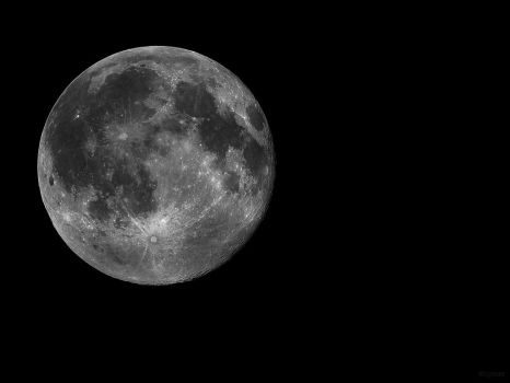 Full Moon Wallpaper by cycoze