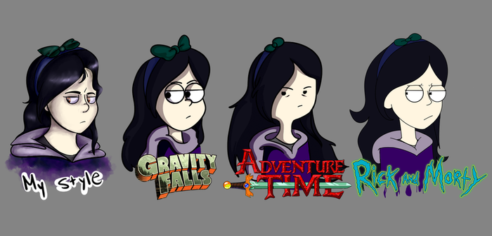 20 Art Style Challenge but only 4 so far... by RaiderMMOz