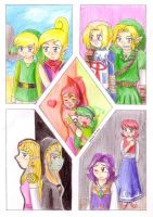 The Legend of Zelda by eikosalia