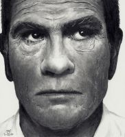 Tommy Lee Jones by Doctor-Pencil